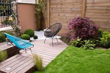 Terrasse Et Jardin Moderne, Co...