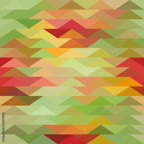 Tuinposter ZigZag Triangle background