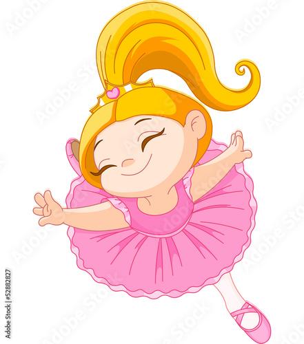 Foto-Lamellen (Lamellen ohne Schiene) - Little  ballerina (von Anna Velichkovsky)