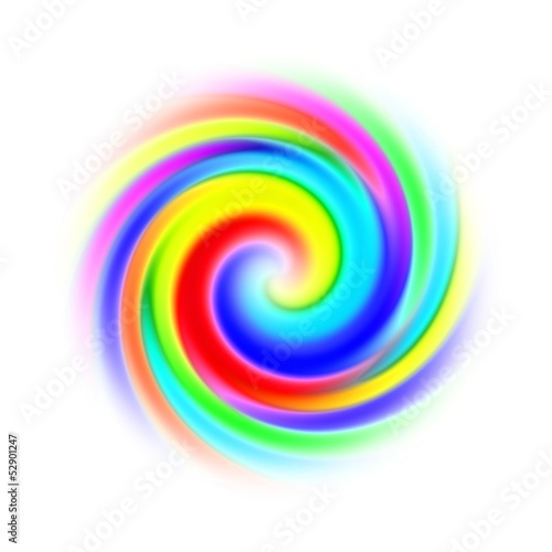Photo Stands Spiral spirale multicolore