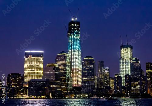 Photo  Night Manhattan