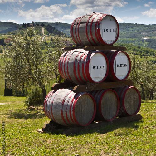 Foto  Barriques nel Chianti