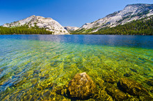 Tenaya Lake At Yosemite Nation...