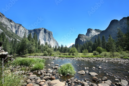 In de dag Natuur Park California - Yosemite National Park