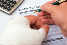 Filling Up A Work Injury Claim...