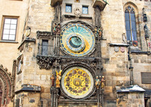Famous Astronomical Clock At T...