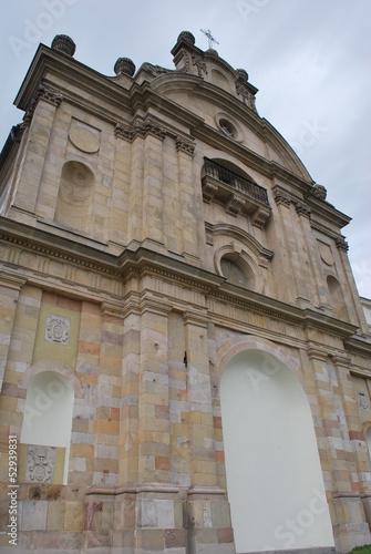 Klasztor Święty Krzyż Poster