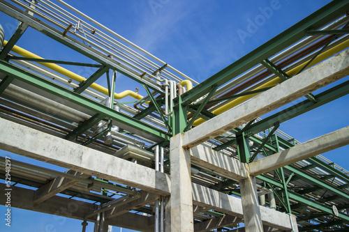 pipe rack Fototapeta