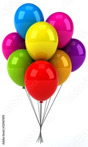 Fotografiet Balloons
