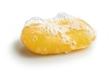 Yellow Soap Bubble Of Isolatio...