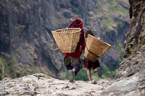 Staande foto Nepal Nepal - Local people