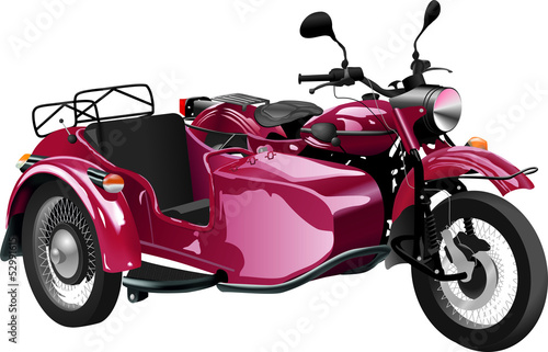 Printed kitchen splashbacks Motorcycle Moto