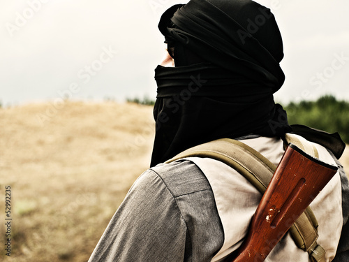 Photo  Muslim rebel