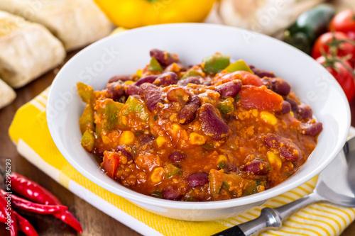chili con carne hackfleisch