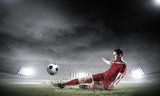 Piłkarz na boisku