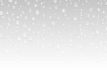 Glasscheibe Mit Wasser