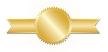 Gold Award. Vector