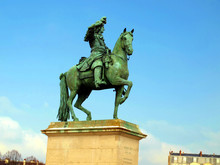 French King Louis XIV On Horse...