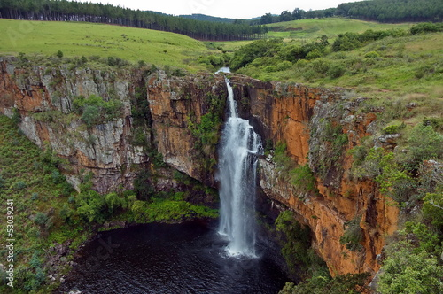 Foto op Plexiglas Zuid Afrika Berlin waterfall. South Africa.