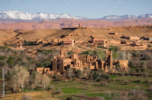 Foto op Canvas Marokko Morocco