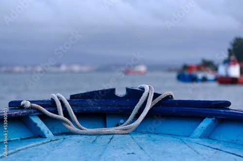 Foto  Proa azul