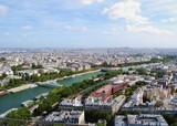 Fototapeta Fototapety Paryż - Panorama Paryża