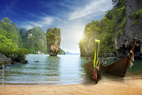 An island in Thailand Wallpaper Mural