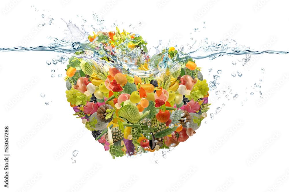 Fototapety, obrazy: 野菜と果物