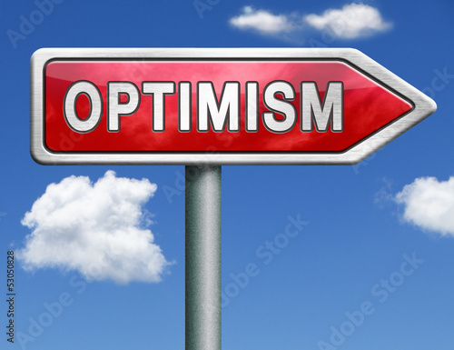 Fotografia  optimism and positive thinking