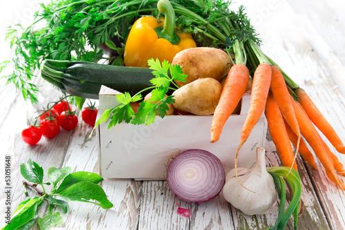 Valokuva  Fresh vegetable