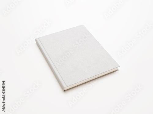 Obraz na plátně  blank white book