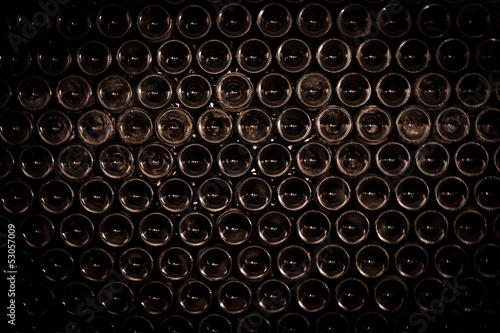 Wine Bottles Background