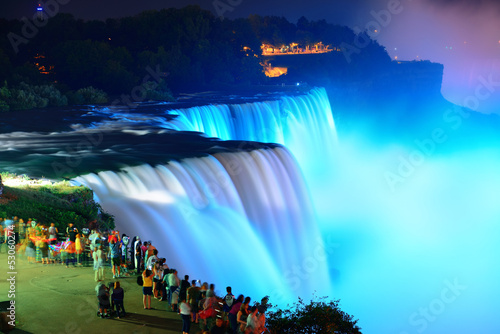 Photo  Niagara Falls in colors