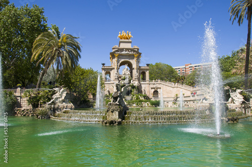 Papiers peints Barcelona Parc de la Ciutadella in Barcelona
