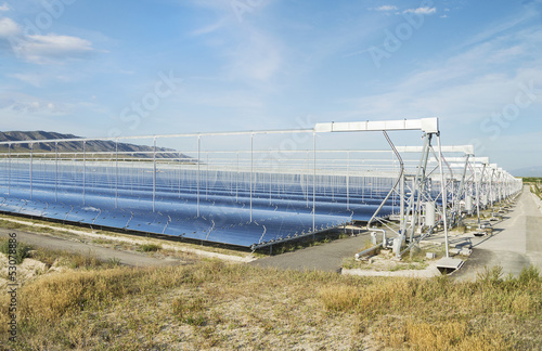 Fotografie, Obraz  Renewable Energy: Solar as the best way to produce green energy