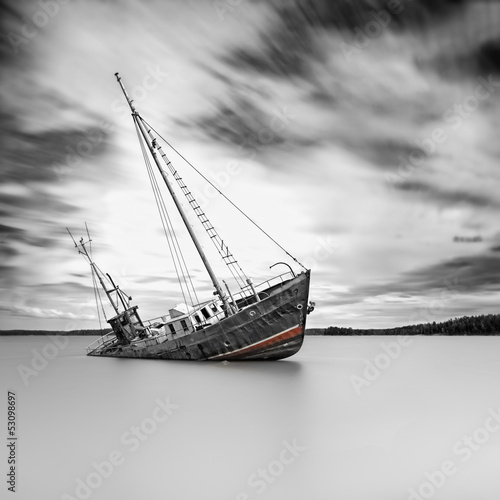 Canvas Prints Shipwreck Shipwreck