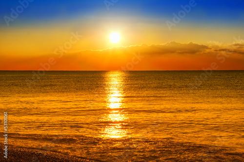 Foto-Kissen - Beaultiful sunset (von Giancarlo Liguori)