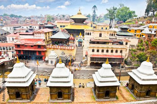 Pashupatinath Temple complex in Kathmandu, Nepal.