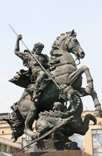 Sculpture Of St. George
