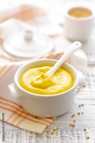Carta da parati Mustard
