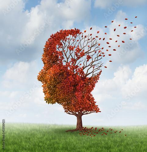 Fotomural  Losing Brain Function