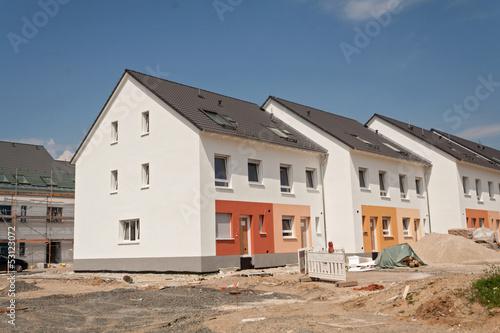 Fotografiet  Siedlung, Neubau