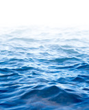 Water surface, abstract background with a text field