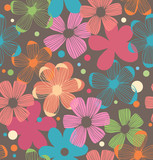 Floral daisy pattern