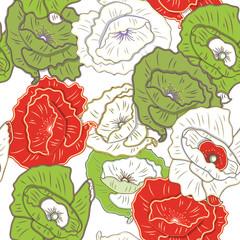 Fototapeta Florystyczny Floral texture
