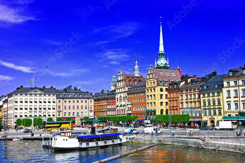 Photo  beautiful Stockholm, Sweeden