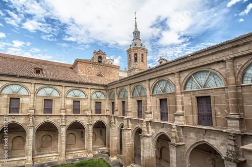 Monastery of San Milln de Yuso in La Rioja,Spain
