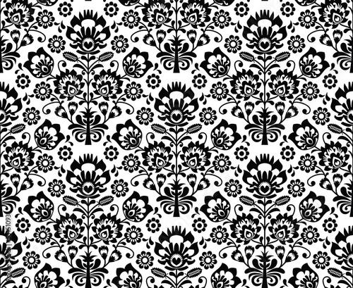 wzor-z-folkowymi-polskimi-kwiatami