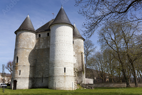 Fotografia, Obraz  Castle of Vernon, Haute Normandie, France