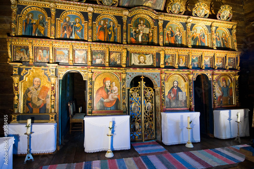iconostasis in slovak orthodox church Tableau sur Toile